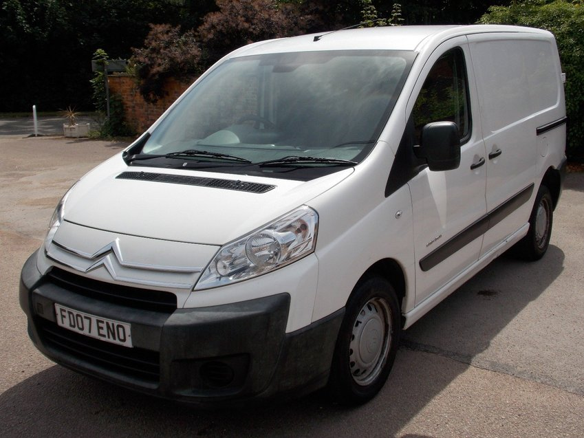View CITROEN DISPATCH 2.0HDi 120bhp L1 H1 Van *NO VAT* 138K MILES