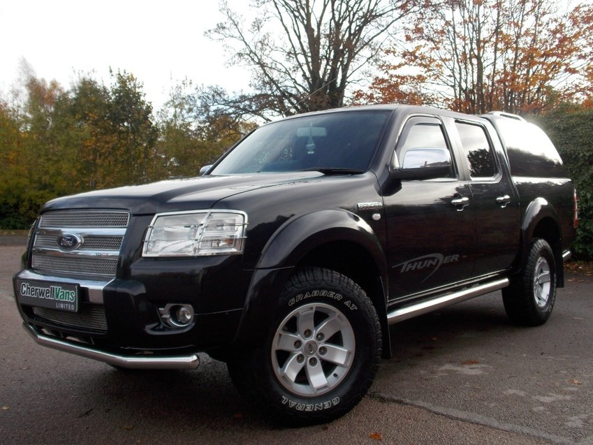 View FORD RANGER 2.5 TDCi XLT Thunder Double Cab Pickup 4x4 *NO VAT* 140bhp 125,000 MILES
