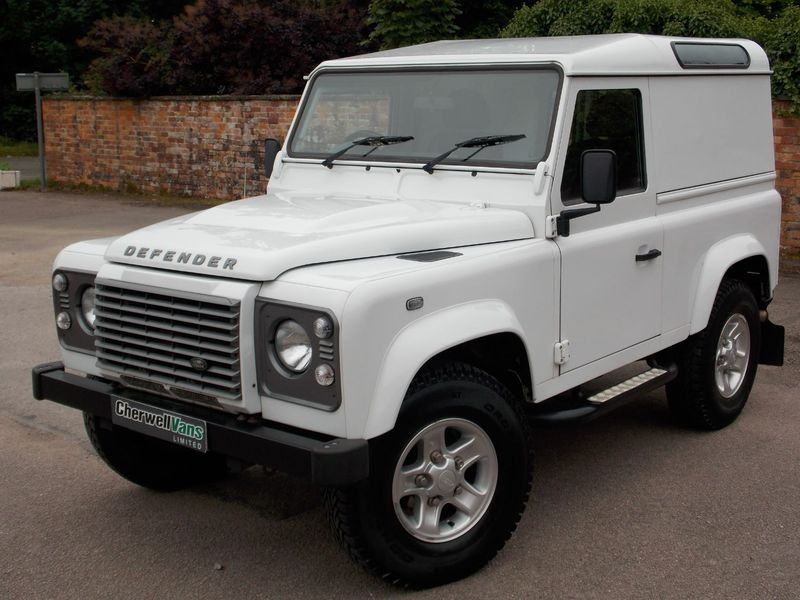LAND ROVER DEFENDER 90 2.2 TD XS HARD TOP 3DR *Fuji White* *Air Con*