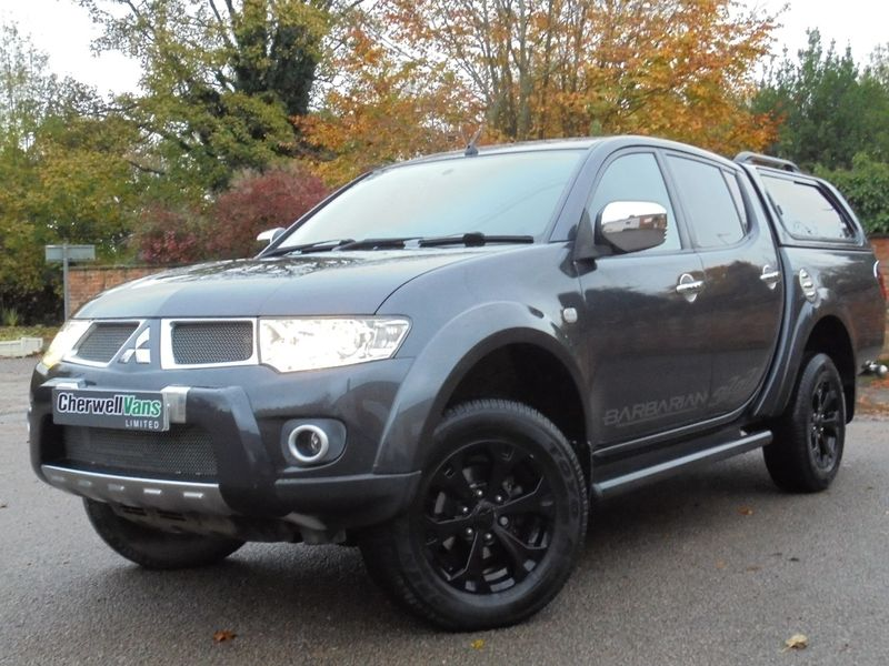 MITSUBISHI L200 2.5 DI-D CR Barbarian 176bhp LWB 4x4 Double Cab AUTO Pick-Up *NO VAT*