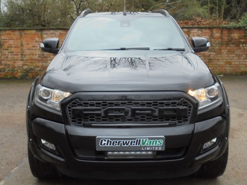 View FORD RANGER WILDTRAK 3.2 TDCi AUTO 4x4 PICKUP *NENE OVERLAND* SPECIAL EDITION 67,000 MILES